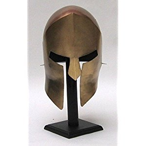 300 Armor Helmet ~ Medieval Knight Crusader Spartan ~ Steel Armer B