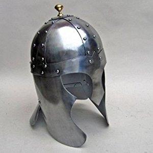 Armor Helmet ~ Arthurian ~ Medieval Knight Crusader ~ Armer E