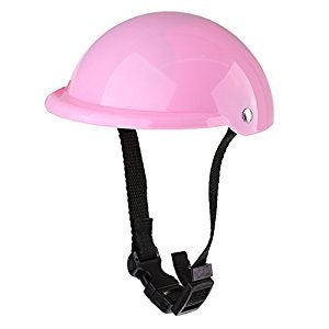Baoblaze Dolls Fashion Cycling /Skateboard Protective Helmet for 18'' American Girl Doll - Pink