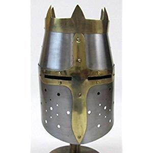 Crusader Helmet ~ Medieval Knight Crusader ~ Steel Armer D