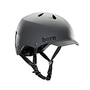 Bern Watts Matte Hardhat -Grey - X-large