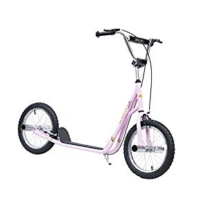 HOMCOM Adult Teen Kick Scooter Kids Children Stunt Scooter Bike Bicycle Ride On 16