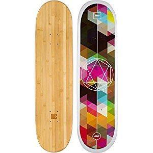 Bamboo Skateboards Sutsu Geometricity Graphic Skateboard Deck, 8