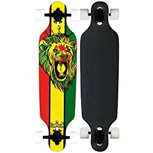 Krown Rasta Freestyle Elite Complete Longboard, 9.25x36