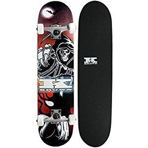Krown Reaper Rookie Complete Skateboard, 7.5x31