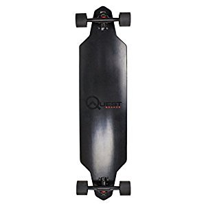 Quest Skateboards Zero Dark 40 Downhill Style Drop