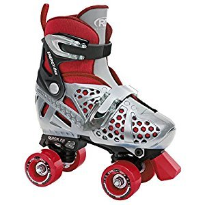 Roller Derby Boy's 1371-M Trac Star Adjustable Roller Skate, Medium