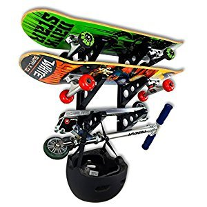 Skateboard Rack - 3 Boards - StoreYourBoard