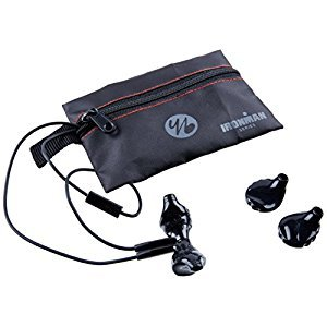 Yurbuds (CE) Inspire 300 Noise Isolating In-Ear Headphones, Black