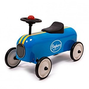 Baghera Racer Blue Metal Ride on
