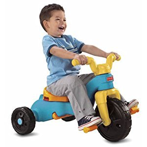 Fisher-Price Fisher-Price Rock, Roll 'n Ride Trike, Blue and Yellow