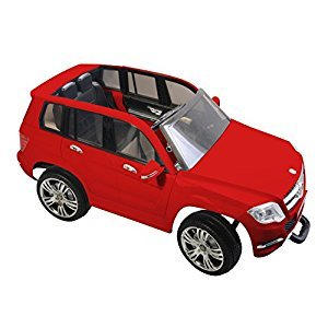 Mercedes-Benz GLK 300 Electric Ride-on Car, Red