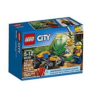 LEGO City Explorers Jungle Buggy Building Kit, 53 Piece