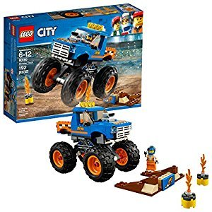 LEGO City Great Vehicles 6209746 Monster Truck 60180 Building Kit (192 Piece)