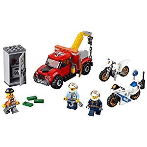 LEGO® City Police Tow Truck Trouble 60137 Building Toy