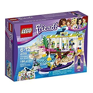 LEGO Friends Heartlake Surf Shop Building Kit, 186 Piece
