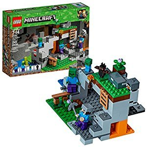 LEGO Minecraft 6212474 the Zombie Cave 21141 Building Kit (241 Piece)