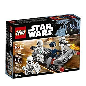 LEGO Star Wars First Order Transport Speeder Battle Pack 75166 Star Wars Toy Vehicle