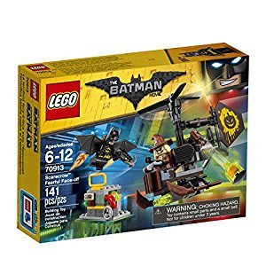THE LEGO BATMAN MOVIE Scarecrow Fearful Face-Off 70913 Batman Toy