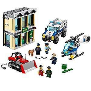 LEGO® City Police Bulldozer Break-In 60140 Construction Toy