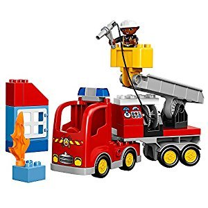 LEGO® DUPLO® Town Fire Truck 10592 Buildable Toy for 3-Year-Olds