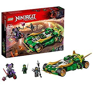 LEGO Ninjago 6212662 Ninja Nightcrawler 70641 Building Kit (552 Piece)