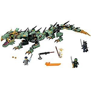 LEGO Ninjago Green Ninja Mech Dragon Building Kit, 544 Piece