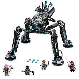 LEGO Ninjago Water Strider Building Kit, 494 Piece
