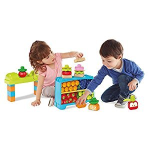 Mega Bloks Lunch Box Market Building Set