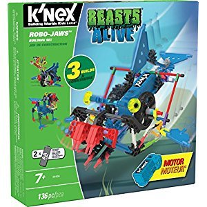 Knex Beasts Alive Robo-Jaws Building Set
