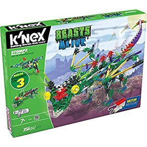 Knex Beasts Alive Stompz Building Set