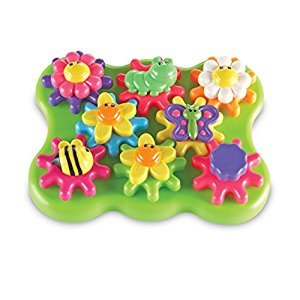 Learning Resources Essentials Flower Garden Build and Spin Playset (17 Piece)