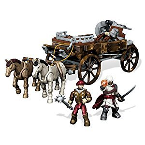 Mega Construx Assassin's Creed Chariot Chase Building Set