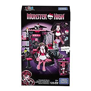 Mega Construx Monster High Draculaura's Vamptastic Room Building Set