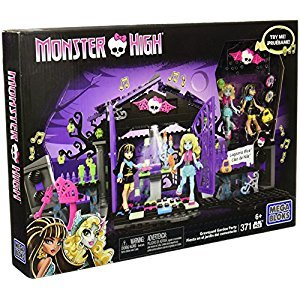 Mega Construx Monster High Graveyard Garden Party Building Set