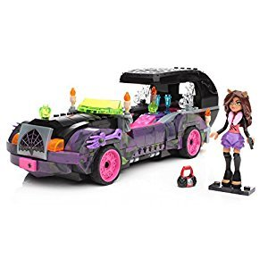 Mega Construx Monster High Monster Moviemobile Building Set