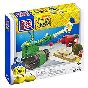 Mega Construx Sponge Bob Pickle Tank Attack Building Set