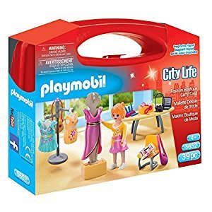 Playmobil Fashion Boutique Carry Case Building Set