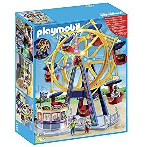 Playmobil Ferris Wheel with Lights Building Set
