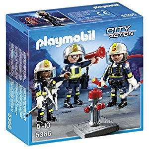 Playmobil Fire Rescue Crew Building Set