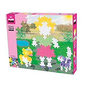 Plus-Plus P3218 Preschool Pastel Midi Building Set, 150 Piece