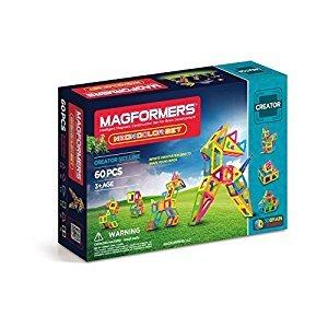 Magformers Neon 60 Piece Set Playset