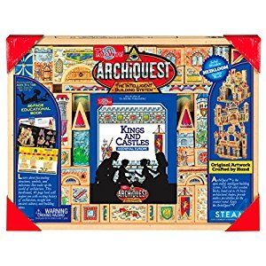 T.S. Shure ArchiQuest Kings and Castles Medieval Europe Wooden Blocks