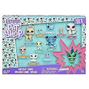 Littlest Pet Shop Cabin Crew Playset