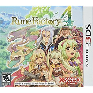 Rune Factory 4 - Nintendo 3DS