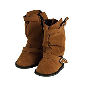 Adora Dolls Brown Slouchy Boot with Buckle