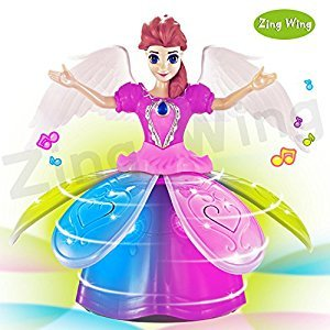 Toddler Girl Toys,Princess Doll with Dancing Walking Music Singing Light Up,Electronic Pets Robot Girl Doll Toys for 5 Year Old Girl Best Birthday Holiday Xmas Christmas Gifts