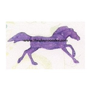 Breyer 6010 Horse Crazy Stablemate Mustang - Purple