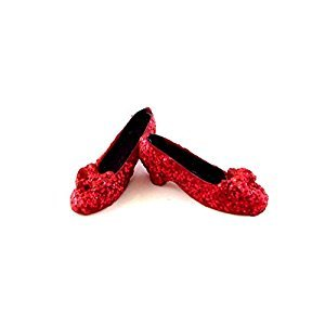 Dollhouse Miniature 1:12 Scale Mini Ruby Slippers #Gs4006 by Aztec Imports, Inc.