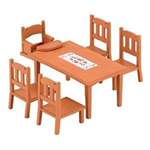 Epoch Sylvanian Families Sylvanian Family furniture Dining Table Set Ka-412 (japan import)
